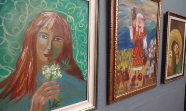 Ликовен и книжевен перформанс на Роза Мојсовска